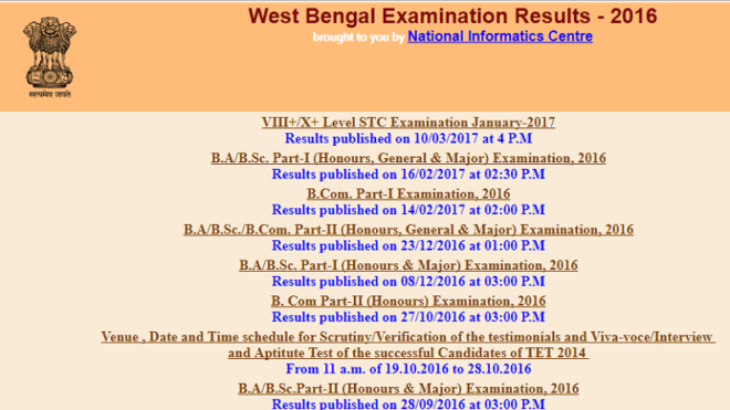 WBBSE result 2017: Madhyamik 10th result to be declared this week