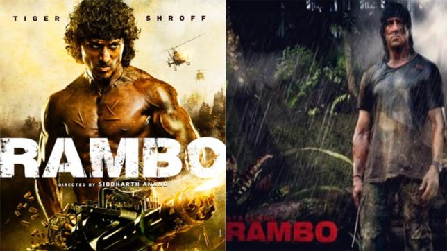I hope I don't let you down, Tiger Shroff to Sylvester Stallone on 'Rambo' remake
