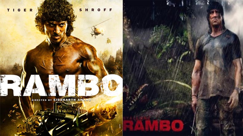 SEE PIC: Tiger Shroff steps into Sylvester Stallone's shoes for Rambo remake