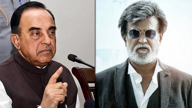 Stick to cinema and entertain people, you have no idea about constitution: Subramanian Swamy to Rajinikanth on joining politics