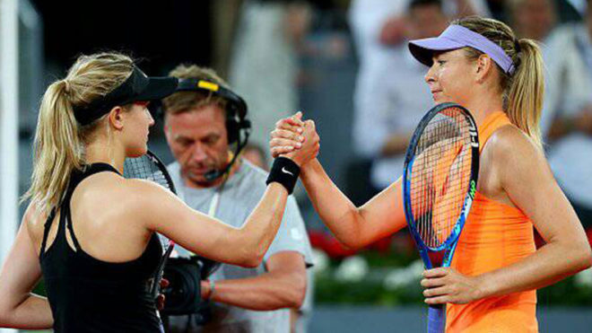 Inspired Bouchard gets bragging rights in 'Round 5'