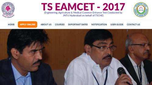 TS Eamcet hall ticket 2017