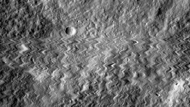 NASA's lunar orbiter camera survives meteoroid hit