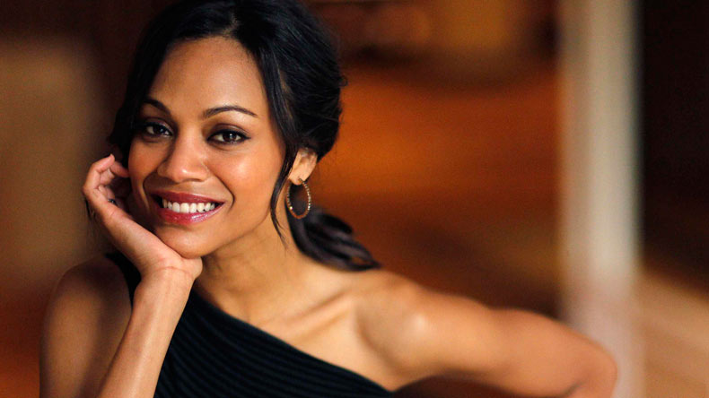 I can't work out regularly: Zoe Saldana