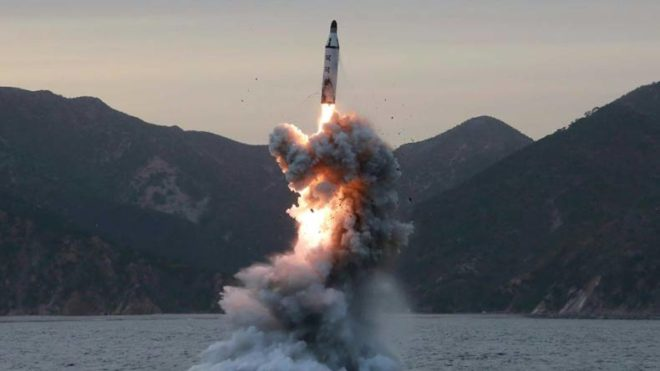 North Korea confirms test-firing another ballistic missile