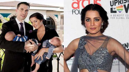 Again! Celina Jaitley pregnant with twins for the second time