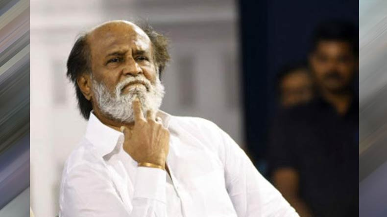 Effigies of Rajinikanth burnt, protestors term him Kannadiga