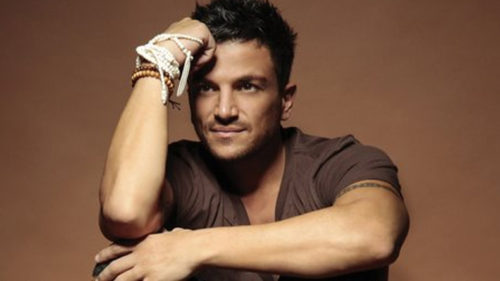 Singer Peter Andre won't go topless anymore