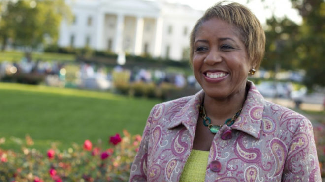White House fires its first female chief usher