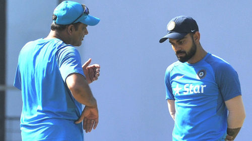 Anil Kumble opens up about weak partnership with Virat Kohli