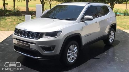 Jeep to roll out 'Made-In-India' Compass tomorrow
