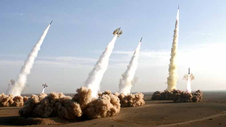Iran misses targets in missile attack on Syria