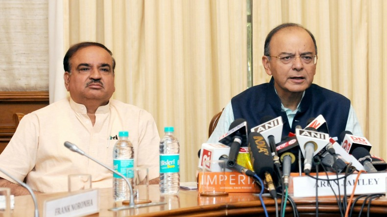 No farm loan waiver, Centre has to meet fiscal deficit target, says Arun Jaitley