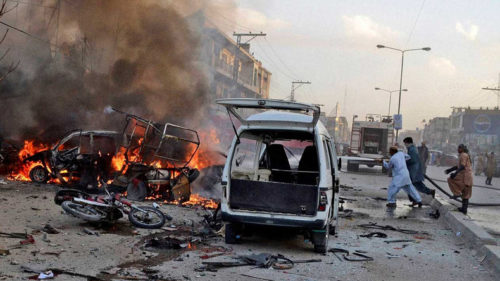Pakistan: Twin blasts rock market in north-west province; 15 killed, 70 injured