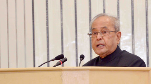 Pranab Mukherjee praises PM Modi for his transformational changes