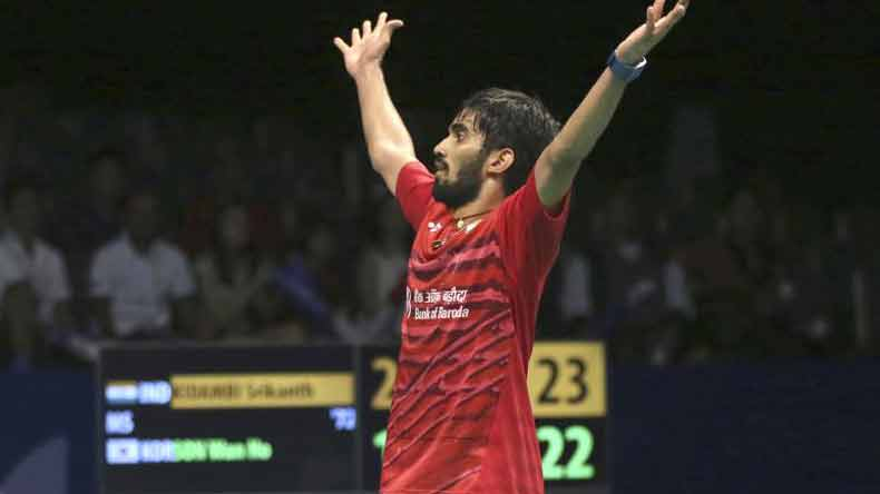 Shuttler Kidambi Srikanth clinches Indonesia Open Superseries title