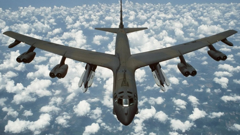 Barksdale bomber met by Russian fighter off country's coast
