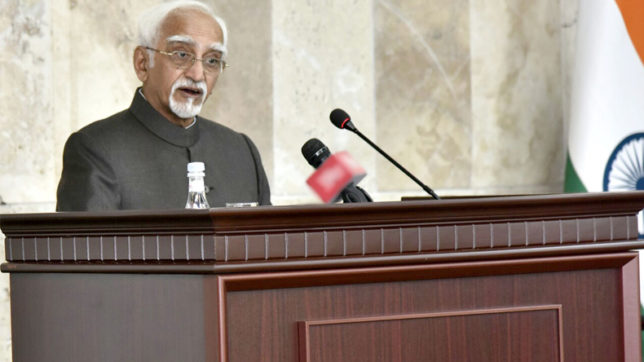 BJP leaders slam Hamid Ansari for his comment, say India best country for Muslims