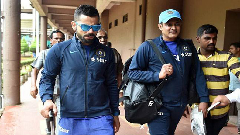 There are no problems between me and coach Kumble, says Kohli