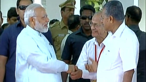 E Sreedharan present, PM Narendra Modi says Kochi Metro coaches echo 'Make in India'