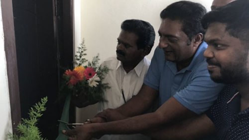 Actor Prakash Raj gives house as Eid gift to poor family