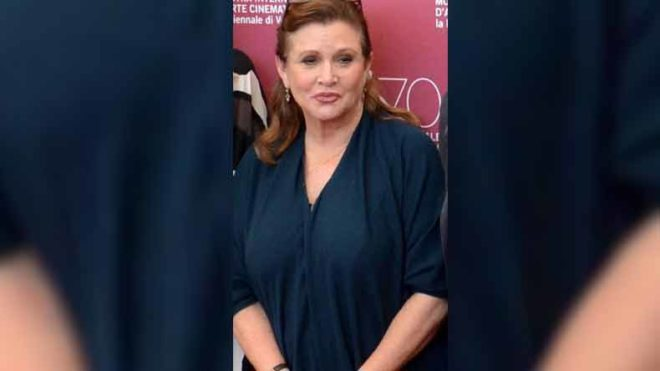 Star Wars' actress Carrie Fisher's autopsy revels she had cocaine, heroin