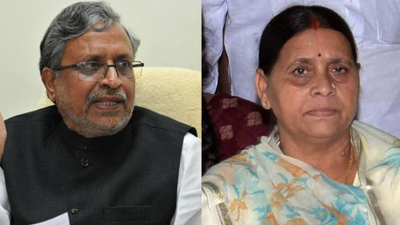 Rabri Devi owns 18 flats worth Rs 20 crore in Patna, alleges BJP's Sushil Modi