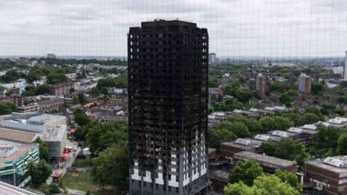 255 survived Grenfell Tower fire London police