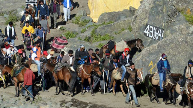Fresh batch of more than 3000 pilgrims leave for Amarnath Yatra