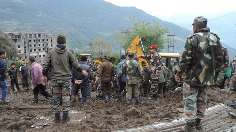 Bodies of 14 buried in Arunachal landslide recovered