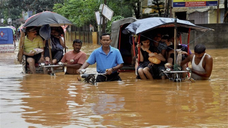 PM Modi calls Sonowal to take stock of flood situation in Assam
