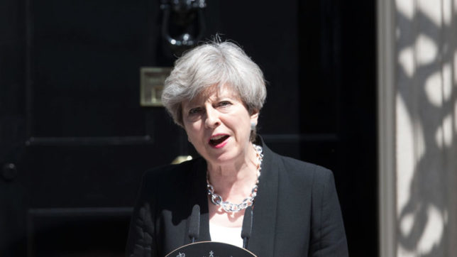 British PM Theresa May's offer to EU citizens 'falls short'
