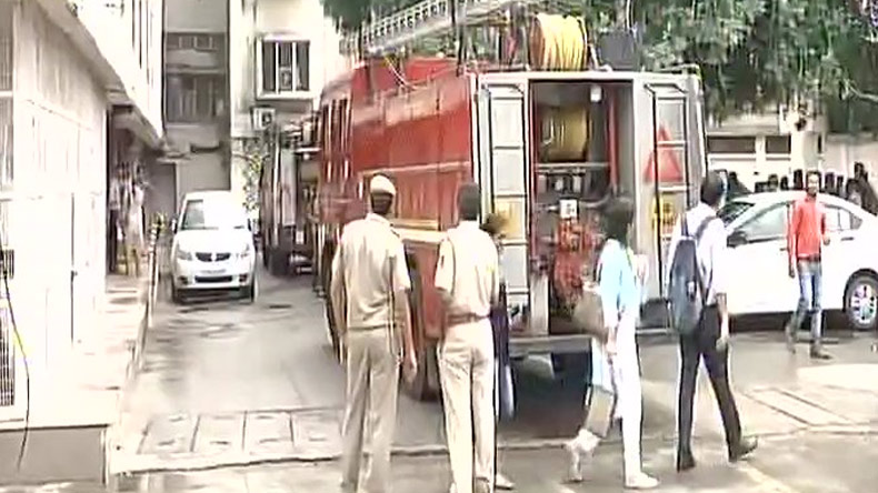 Delhi: Fire breaks out at Shastri Bhawan; no casualties