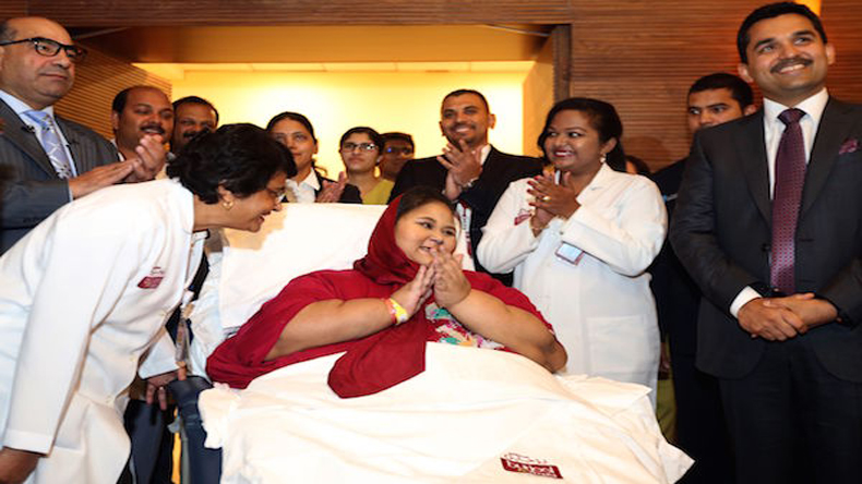 World's heaviest woman Eman loses 65 kgs after treatment in UAE