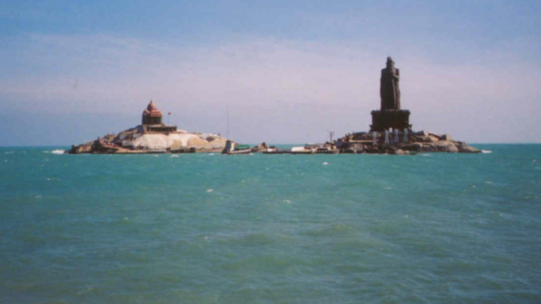 Kanyakumari: Dead end of Southern coastline of India