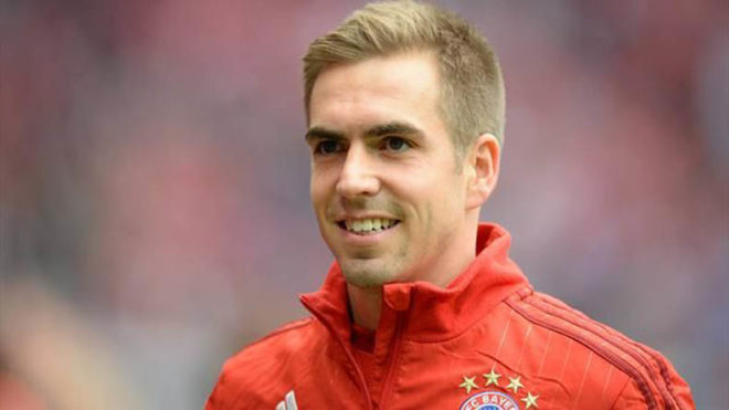 German journalists name Philipp Lahm as Player of the Year 2017
