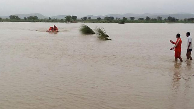 Flood-like situation claims six lives in Rajasthan