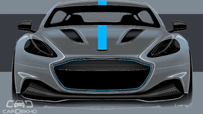 Aston Martin's all-electric RapidE to enter production in 2019