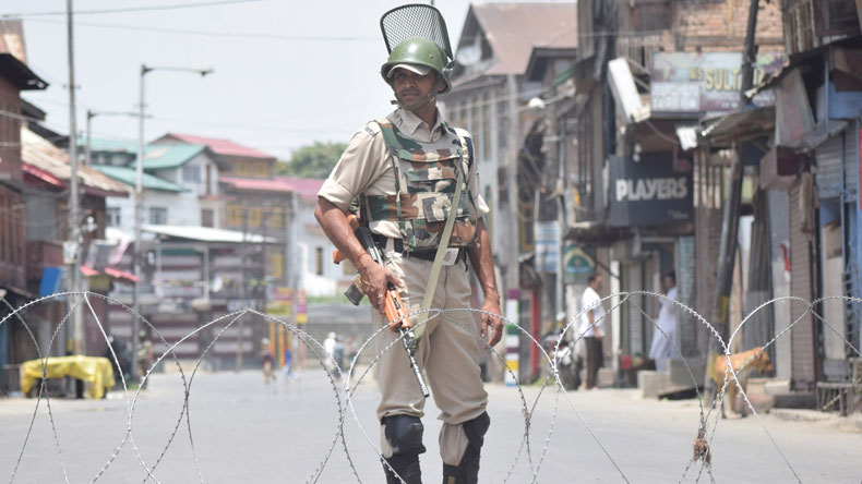 Curfew imposed in Kashmir Valley on Wani's death anniversary