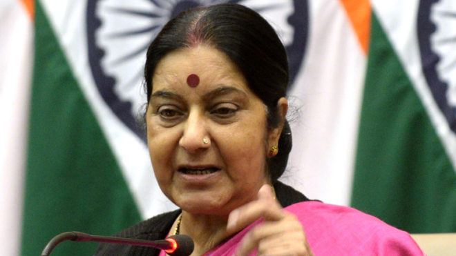 Doklam row: Sushma Swaraj slams Rahul Gandhi for meeting Chinese Ambassador