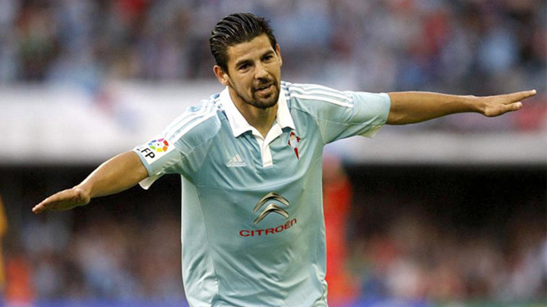 Manchester City forward Nolito arrives to complete Sevilla switch