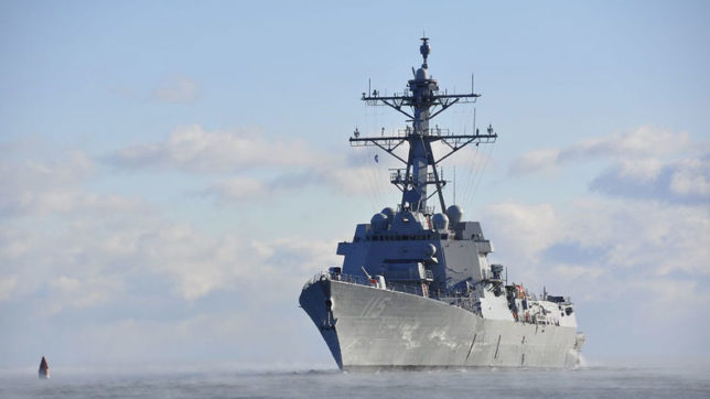 US Navy's newest guided-missile destroyer commissioned in San Diego