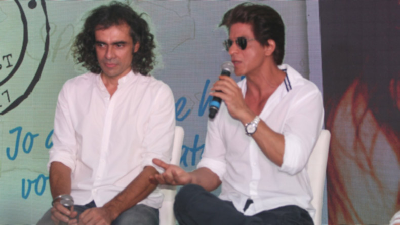 Shah Rukh Khan says Imtiaz Ali took him to weird places for food