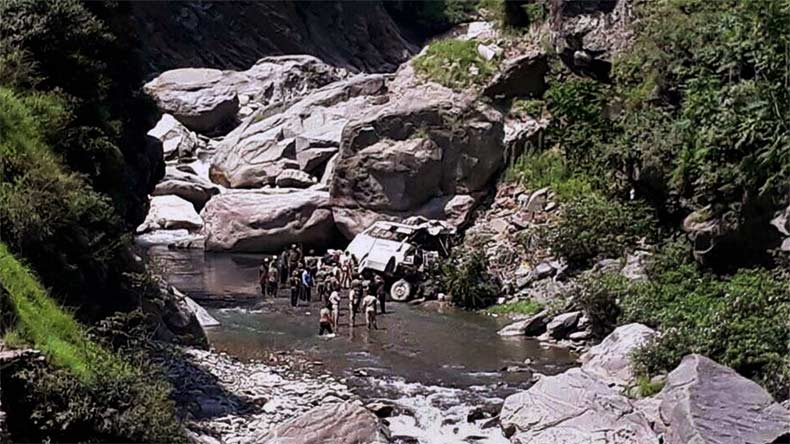 J&K: 16 Amarnath pilgrims dead, 26 injured as bus falls into gorge; rescue operation underway
