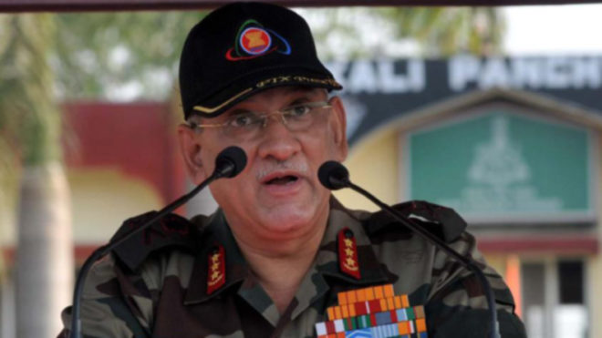Army chief Bipin Rawat reviews security in aftermath of Anantnag terror attack