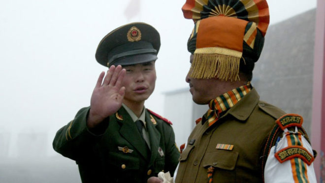 China again asks India to pull back from