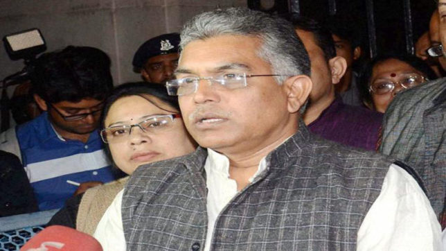 Bengal BJP president Dilip Ghosh threatens to torch CM Mamata Banerjee's residence