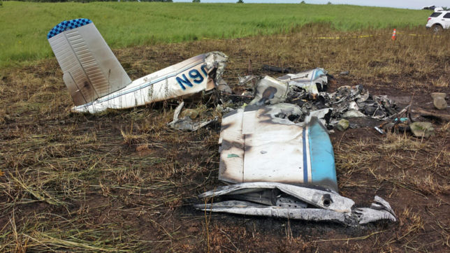 US: 6 killed as small plane crashes in Wisconsin