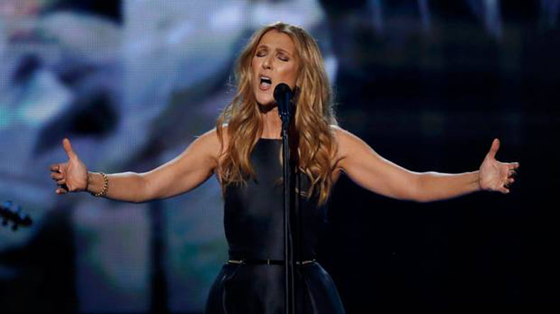 I enjoy lot of fitting sessions for all outfits: Celine Dion
