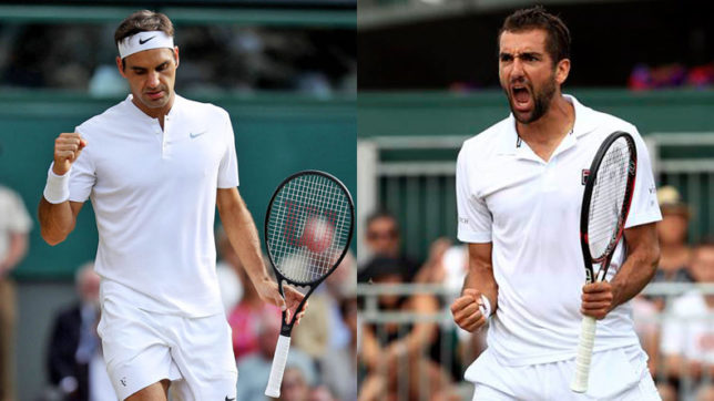 Wimbledon 2017: 8th title triumph for Federer or will Marin Cilic pull off an upset at the centre court